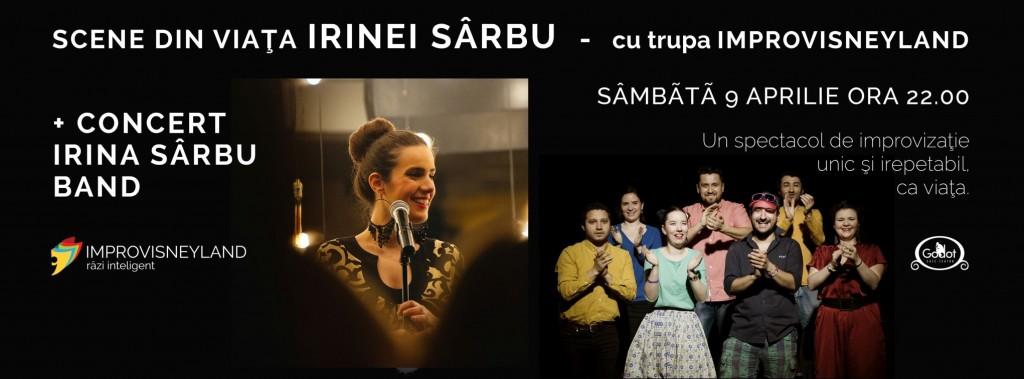 Irina Sarbu si Improvisneyland