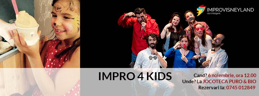 show de improvizatie pentru copii