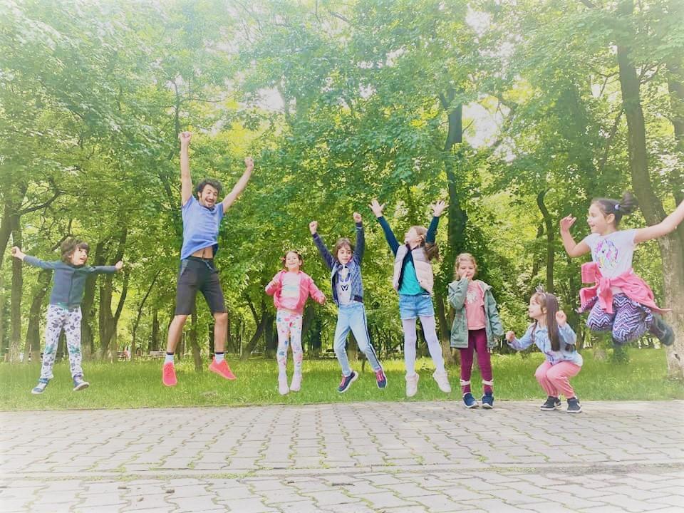 Lecții deschise cu grupele de copii :)